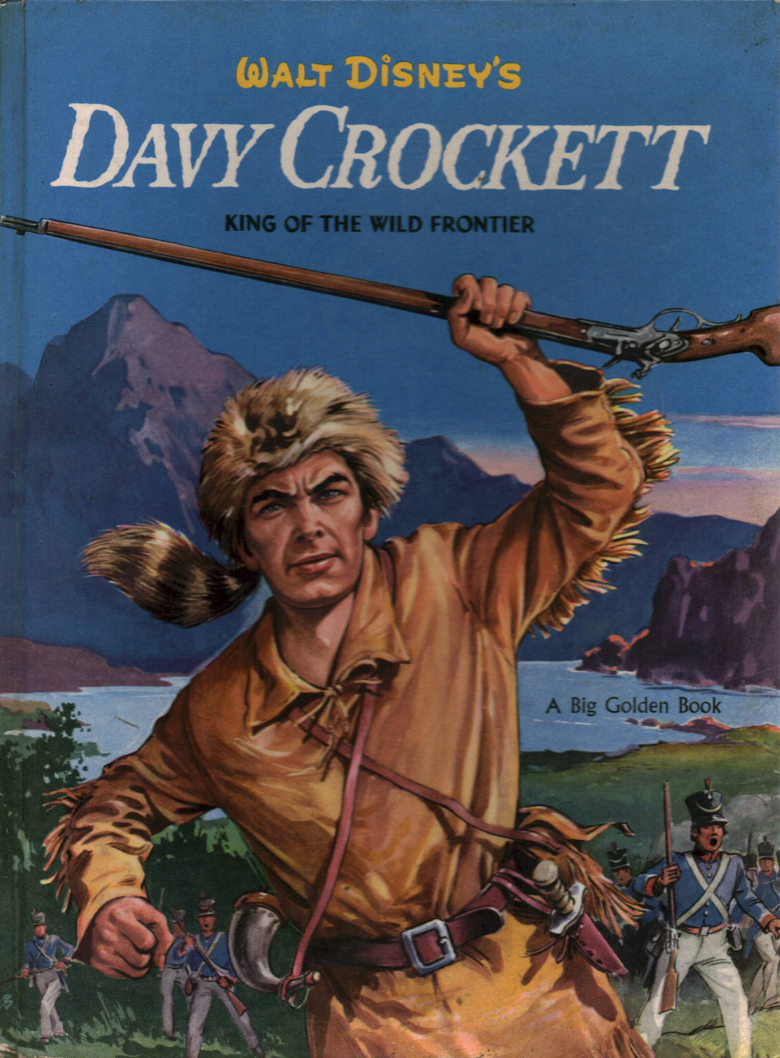 Davy crockett walt disney illustrati libri per for Libri per ragazzi
