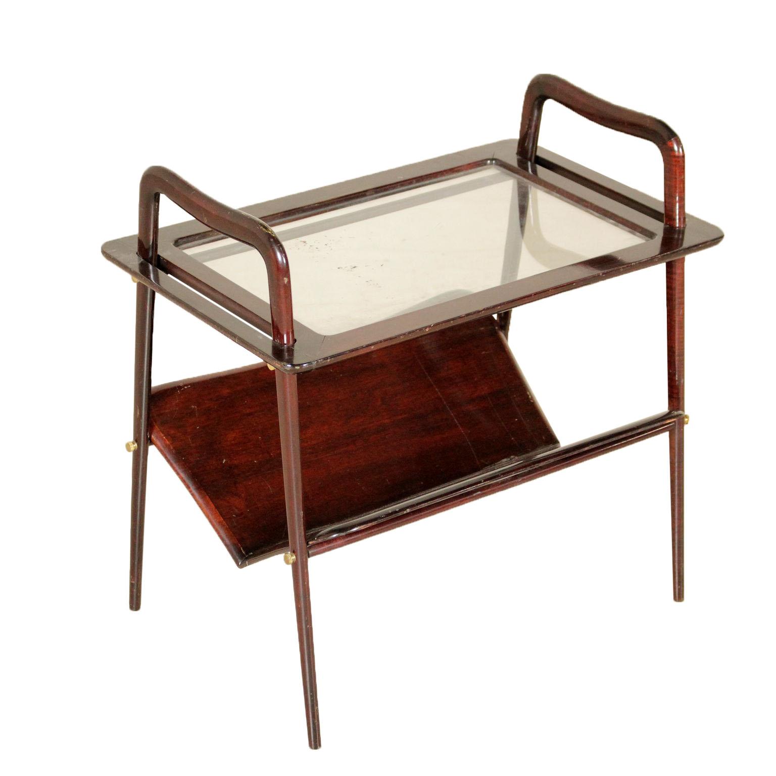 Tavolino ico parisi tavoli modernariato for Negozi tavoli milano