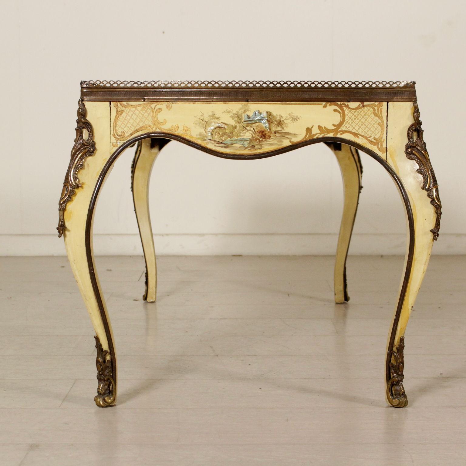 Mesa De Café Decorado - Muebles de estilo - Bottega del 900 ...