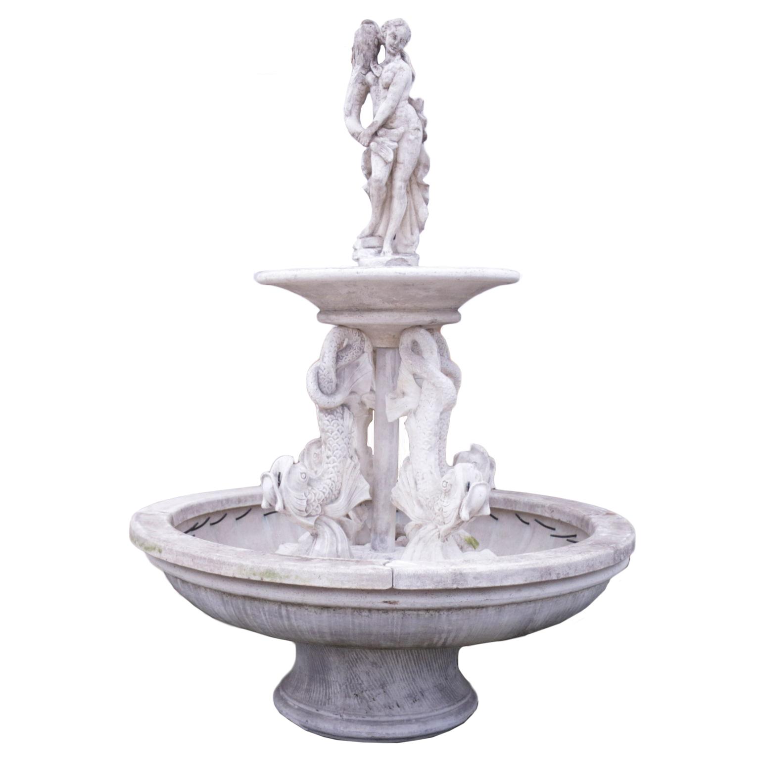 Fontana da giardino pietre e arredi giardino for Arredi antiquariato