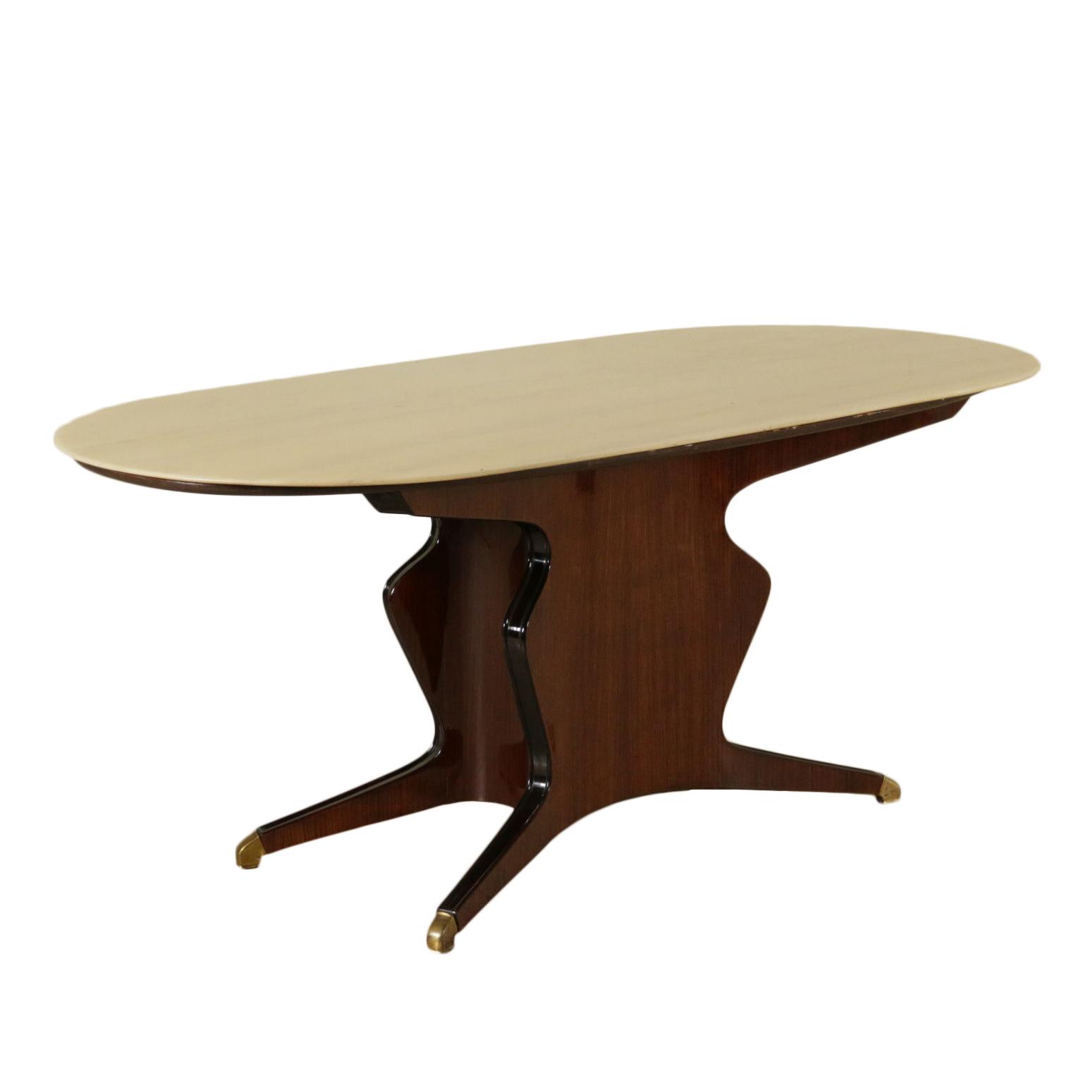 Tavolo osvaldo borsani tavoli modernariato for Negozi tavoli milano