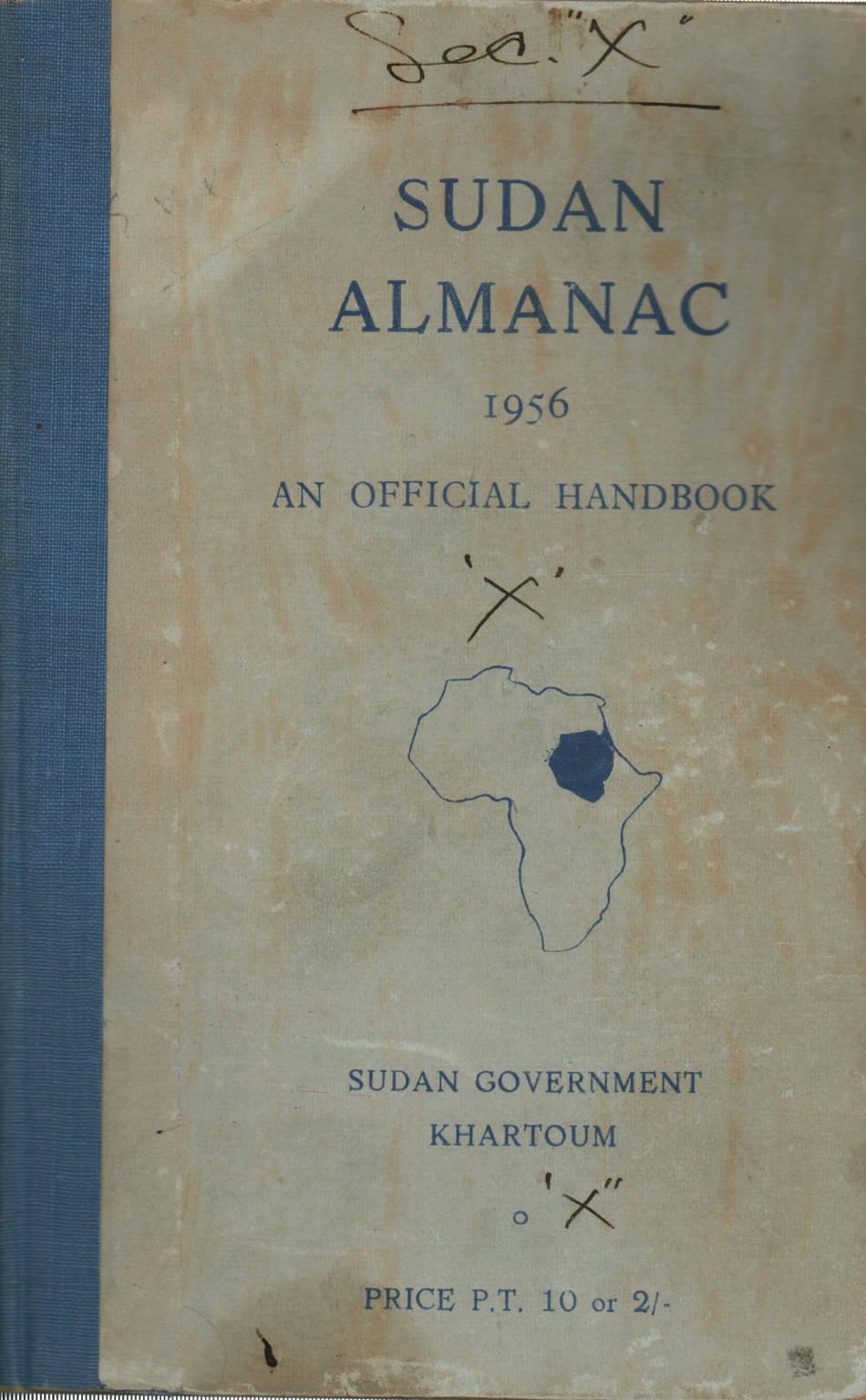 Судан Альманах 1956 - AA.VV. - Современная история - История ... 58af1717c07b4