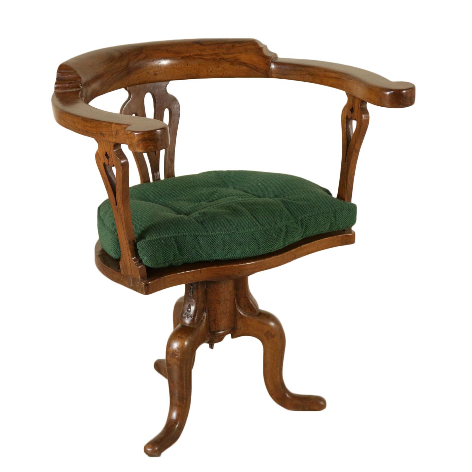 Sedia girevole sedie poltrone divani antiquariato for Poltrone sedie