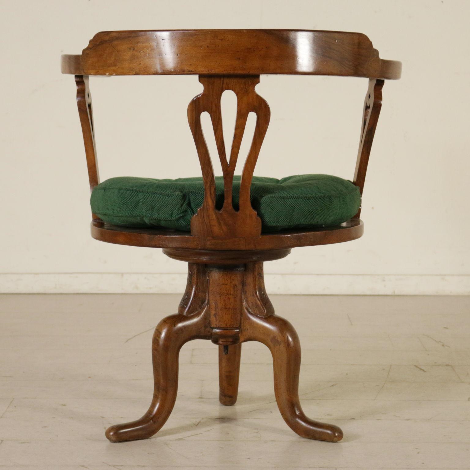 Sedia girevole sedie poltrone divani antiquariato for Sedia girevole