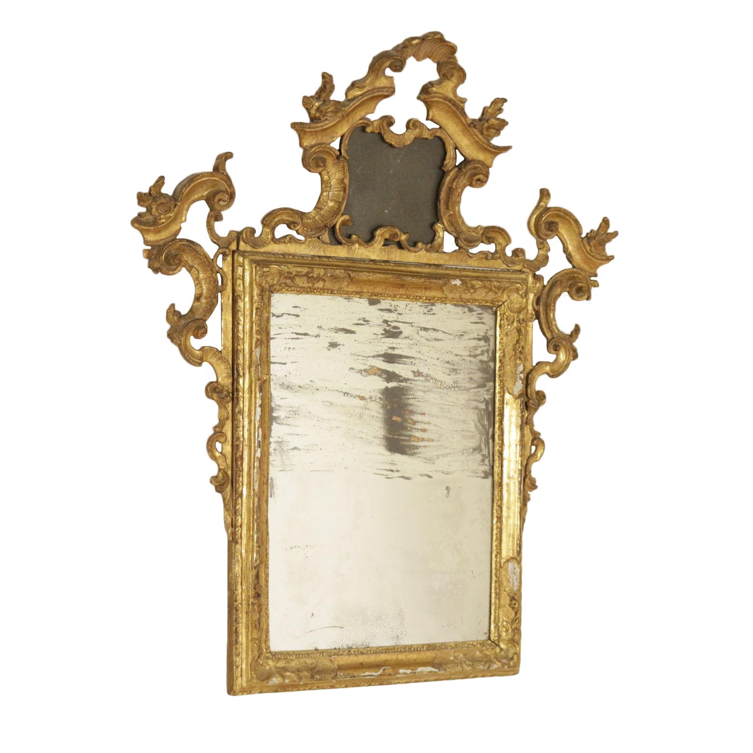 Espejo marco de Madera Tallada - Espejos y marcos - Antiguedades ...