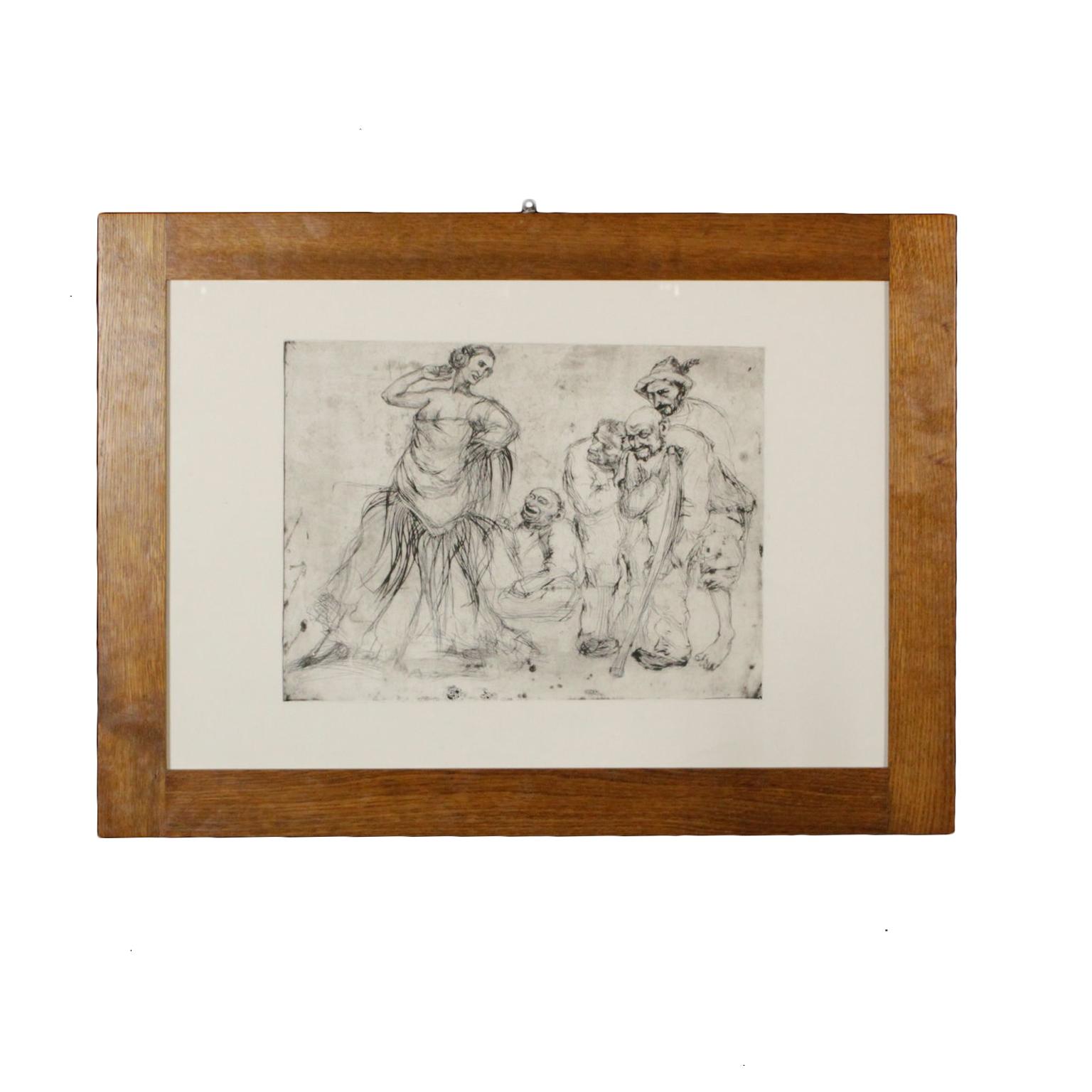 Arte del siglo Xx - Lorenzo Gigli (1896 -1983) Caracteres de la carretera d56233db460