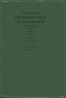 Theatrum instrumentorum et machinarum,雅可比Bessoni Delphinatis数学ingeniosissimi暨法郎。 Baroaldi figurarum联demonstrativa