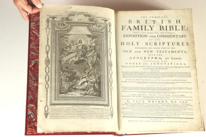The Complete British Family Bible : Being A New, C, Paul Wright