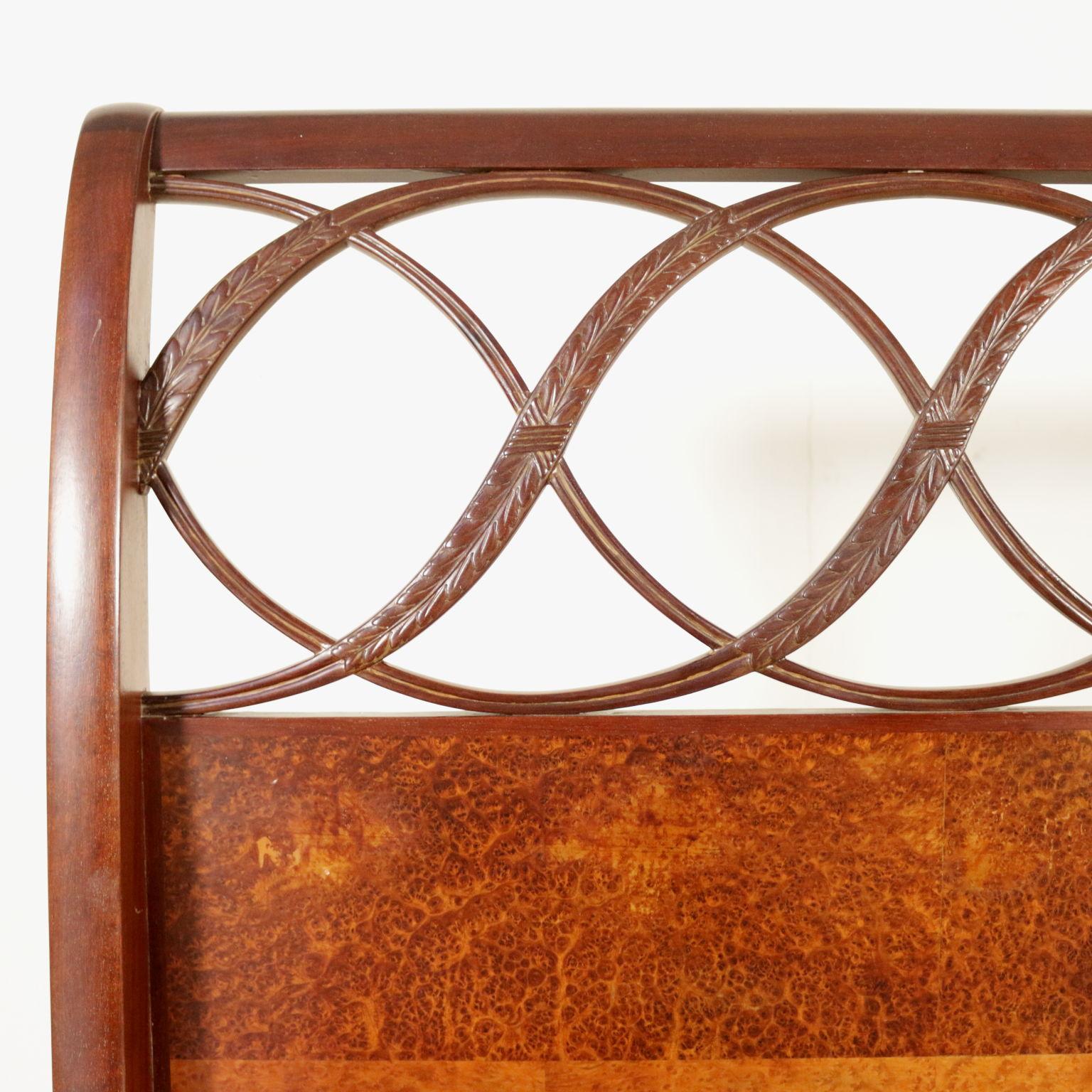 Bett zuzurechnen Paolo Buffa - Einrichtungsgegenstände - Modernes ...