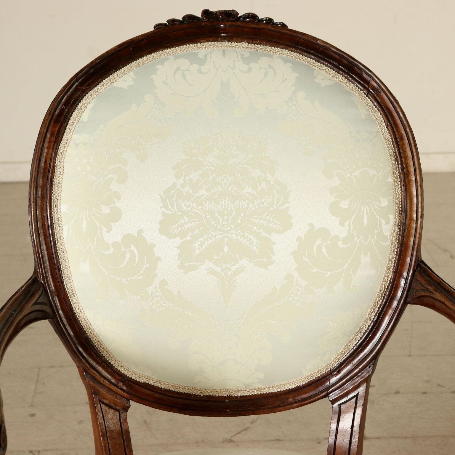 Coppia di poltrone genovesi sedie poltrone divani for Poltrone sedie