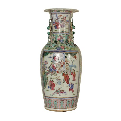 Vase en porcelaine chinoise grand