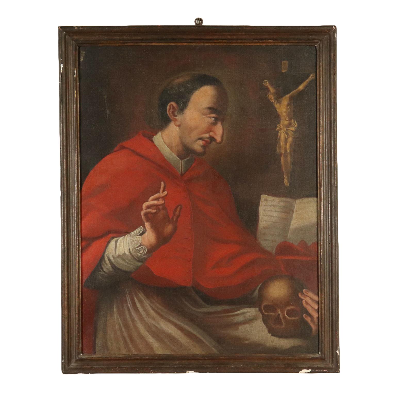 San carlo borromeo pittura antica arte for Arredi interni san giuseppe vesuviano