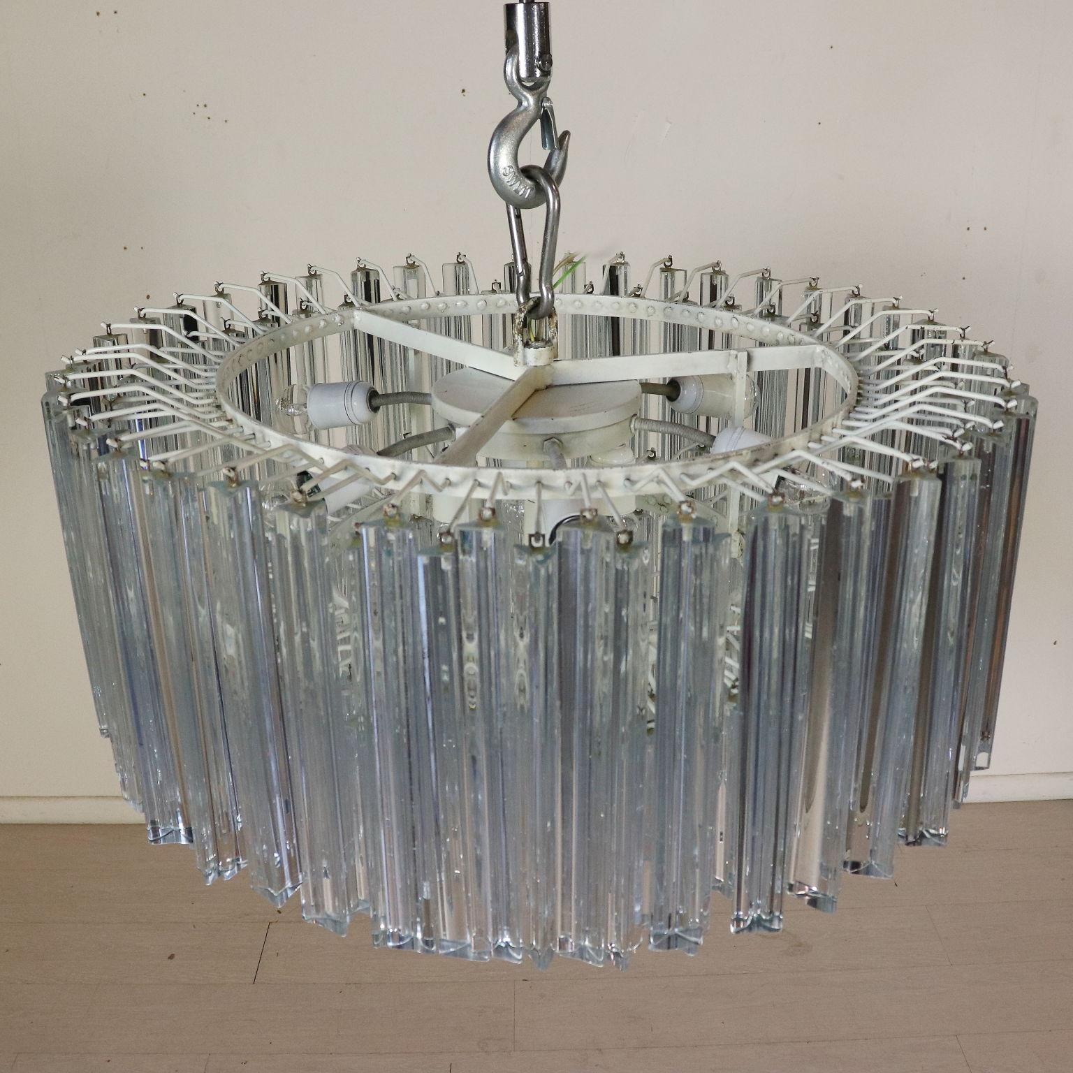 Lampadario Venini Anni 70.Lampada Venini Illuminazione Modernariato Dimanoinmano It