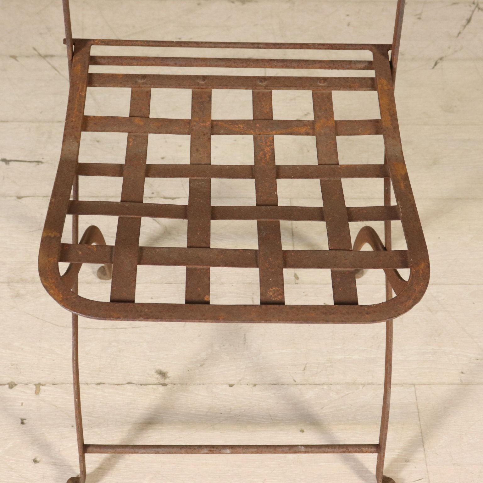 Tavolo con quattro sedie pietre e arredi giardino antiquariato - Dwg tavolo con sedie ...