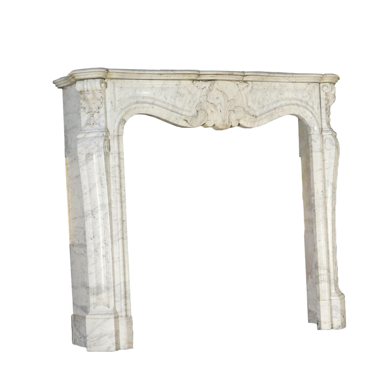 Chimenea de mármol - Piedras y muebles de jardín - Antiguedades ...