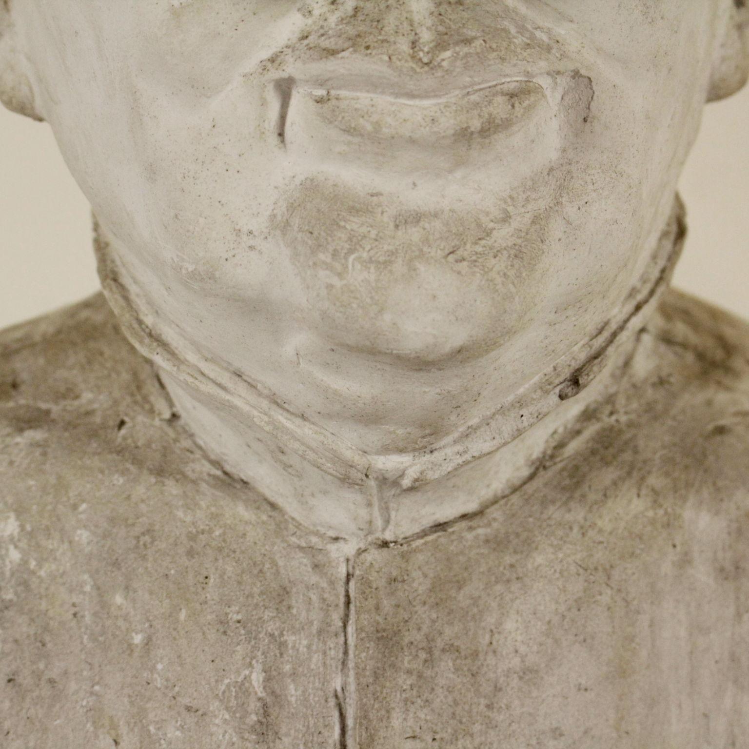 Busto in gesso oggettistica antiquariato for Oggettistica particolare