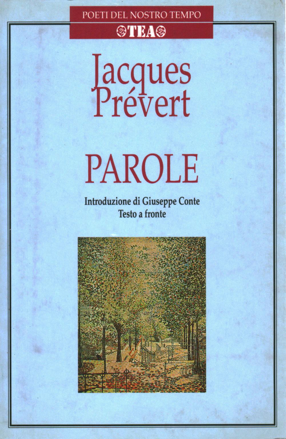 Worte Jacques Prévert Poesia Straniera Poesie