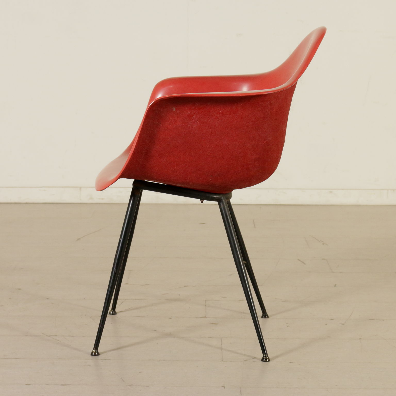 Chaise Style Charles Eames Vintage Italie Annes 60