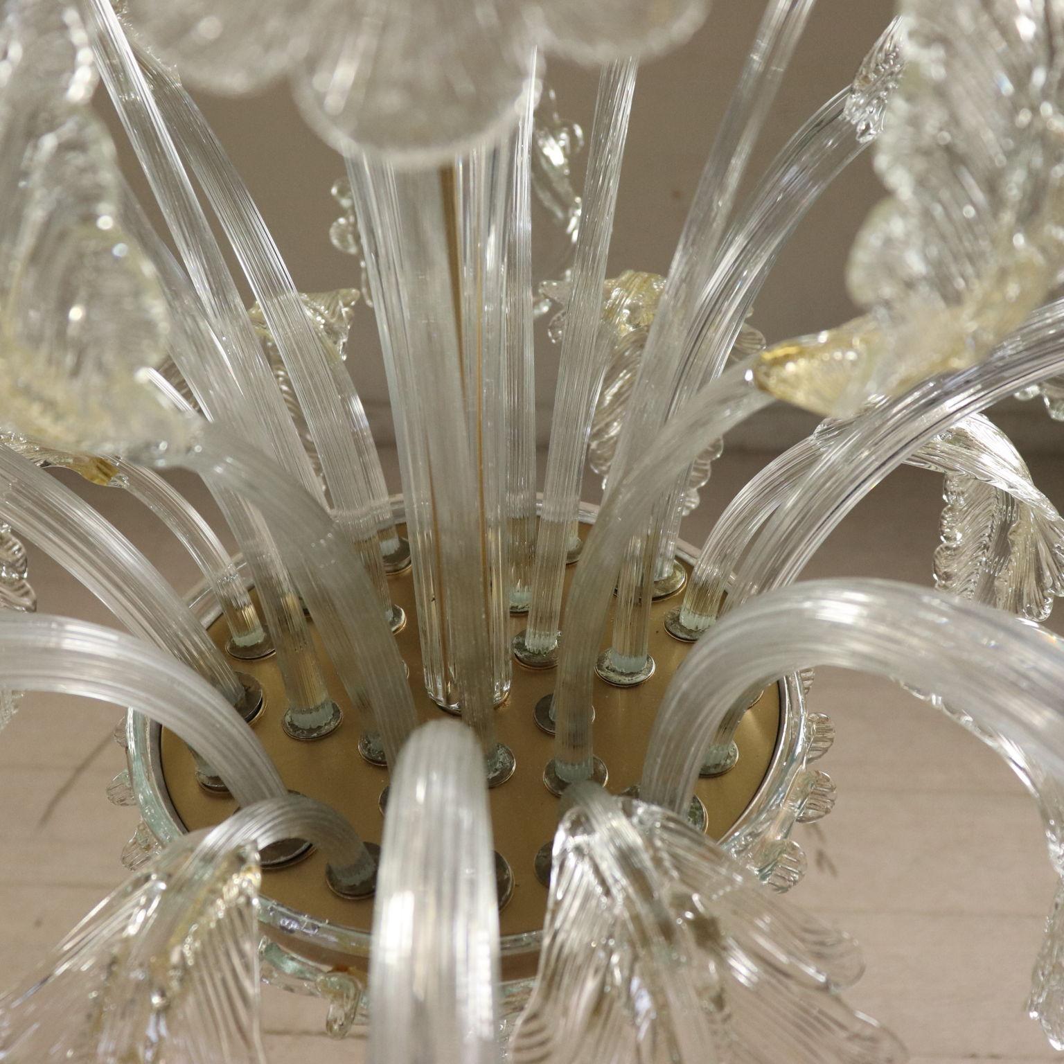 Lampadario Murano Anni 50.Lampadario Murano A Dodici Luci Illuminazione Bottega Del 900