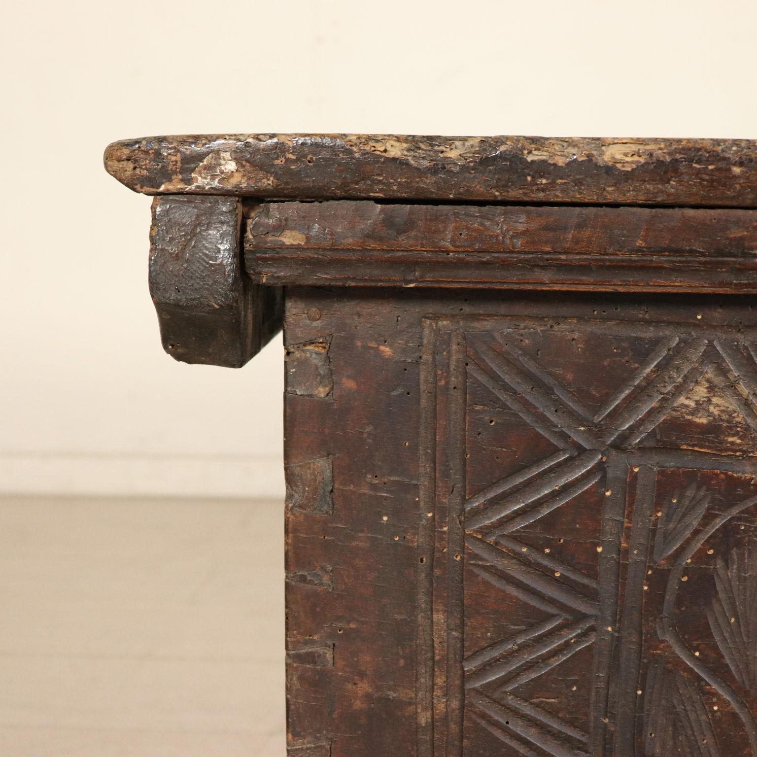 Cassapanca barocco altri mobili antiquariato for Antiquariato mobili