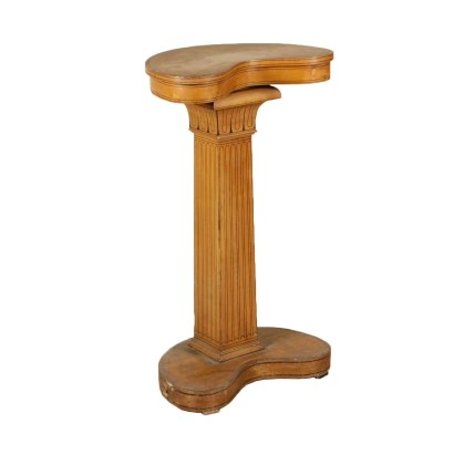 Coffee Table Vase Stand Maple Rosewood Italy Late 1800s
