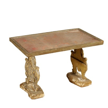 Coffee Table Antique Woods Italy 18th-20th Century