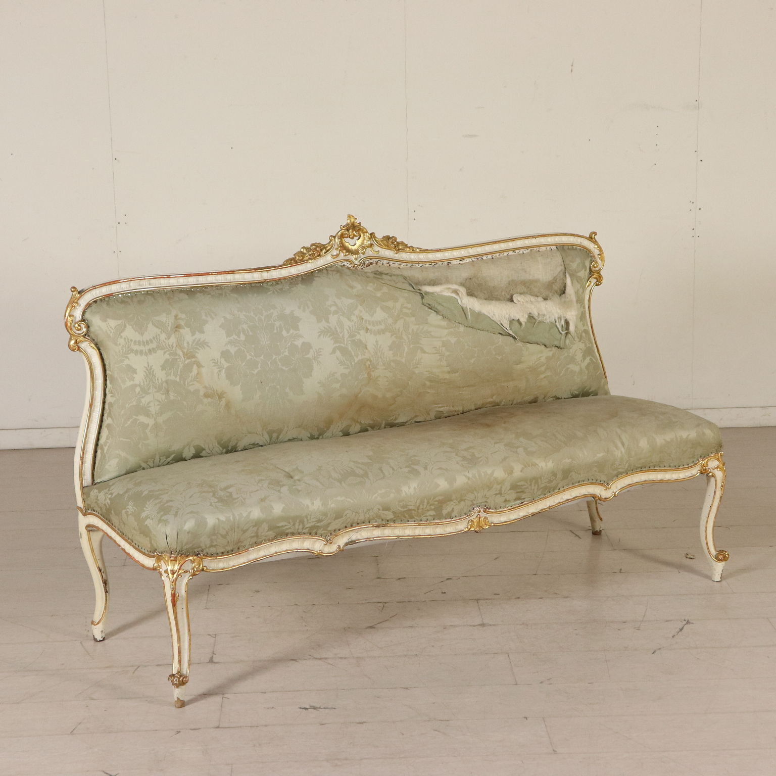 Sofa And Two Chairs In The Rococo Style
