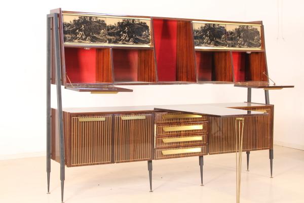 Credenza Modernariato : Credenza anni mobilio modernariato dimanoinmano