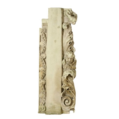 Baroque Stone Frieze with Putto Italy Late 17th Early 18th Century
