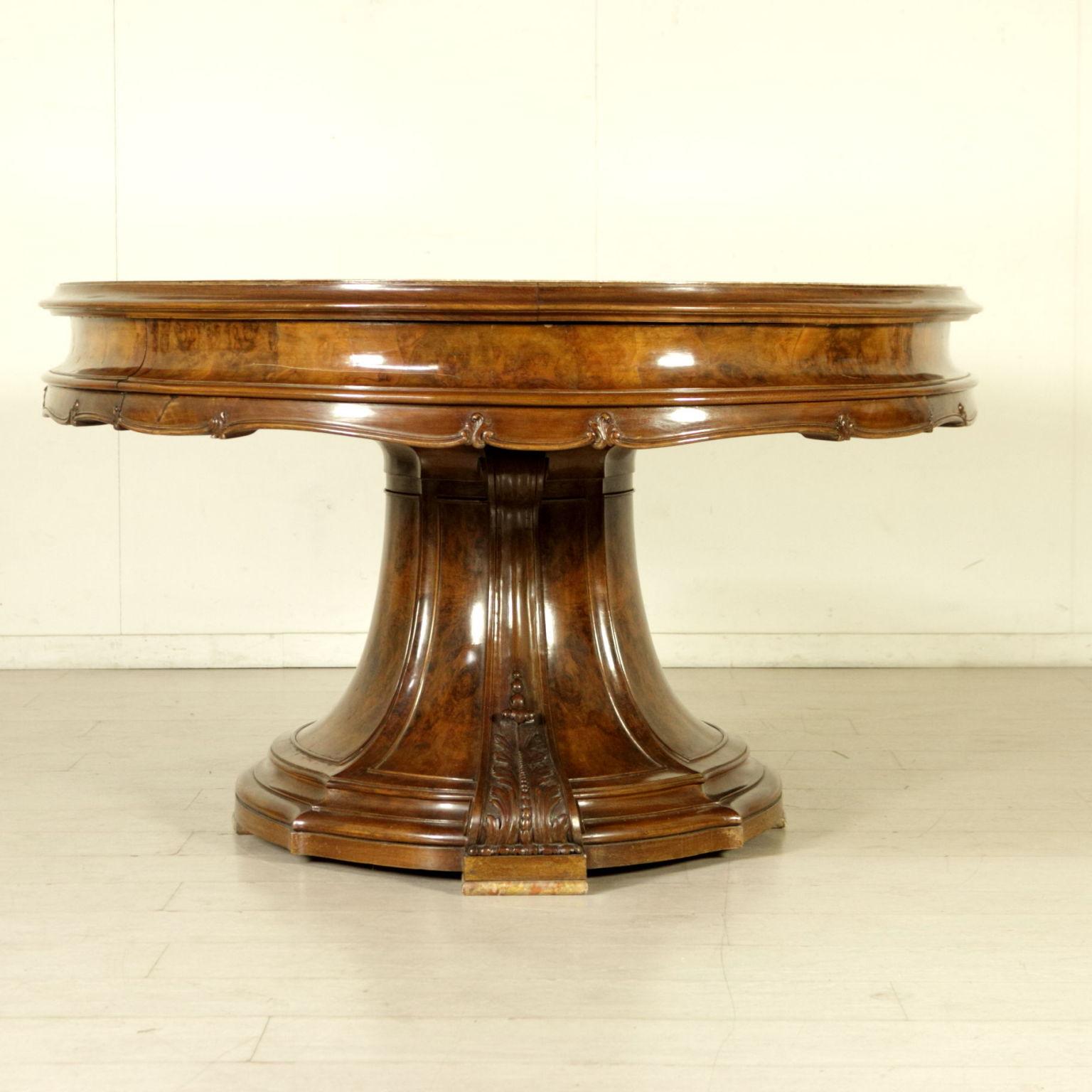 Grande tavolo ovale allungabile barocchetto bottega for Tavolo ovale grande