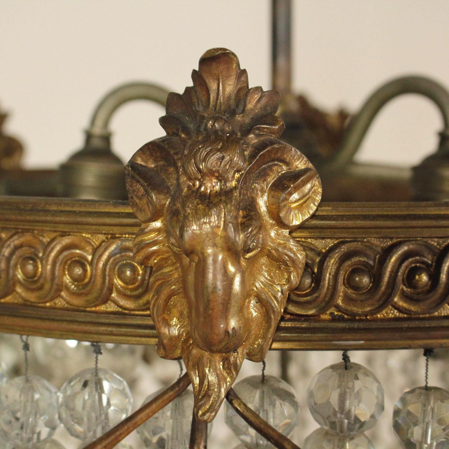 Antike Originale Vor 1945 Symbol Der Marke Empire Stil Chandelabra Kerzenhalter