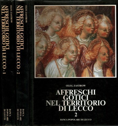 Gothic frescoes in the territory of Lecco (2 Volumes)