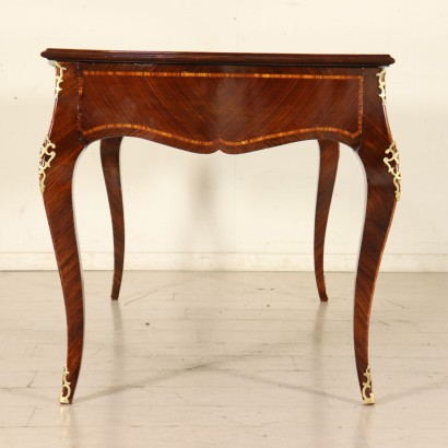 Desk Brazilian Rosewood Manufactured in Italy Second Half of 1800s