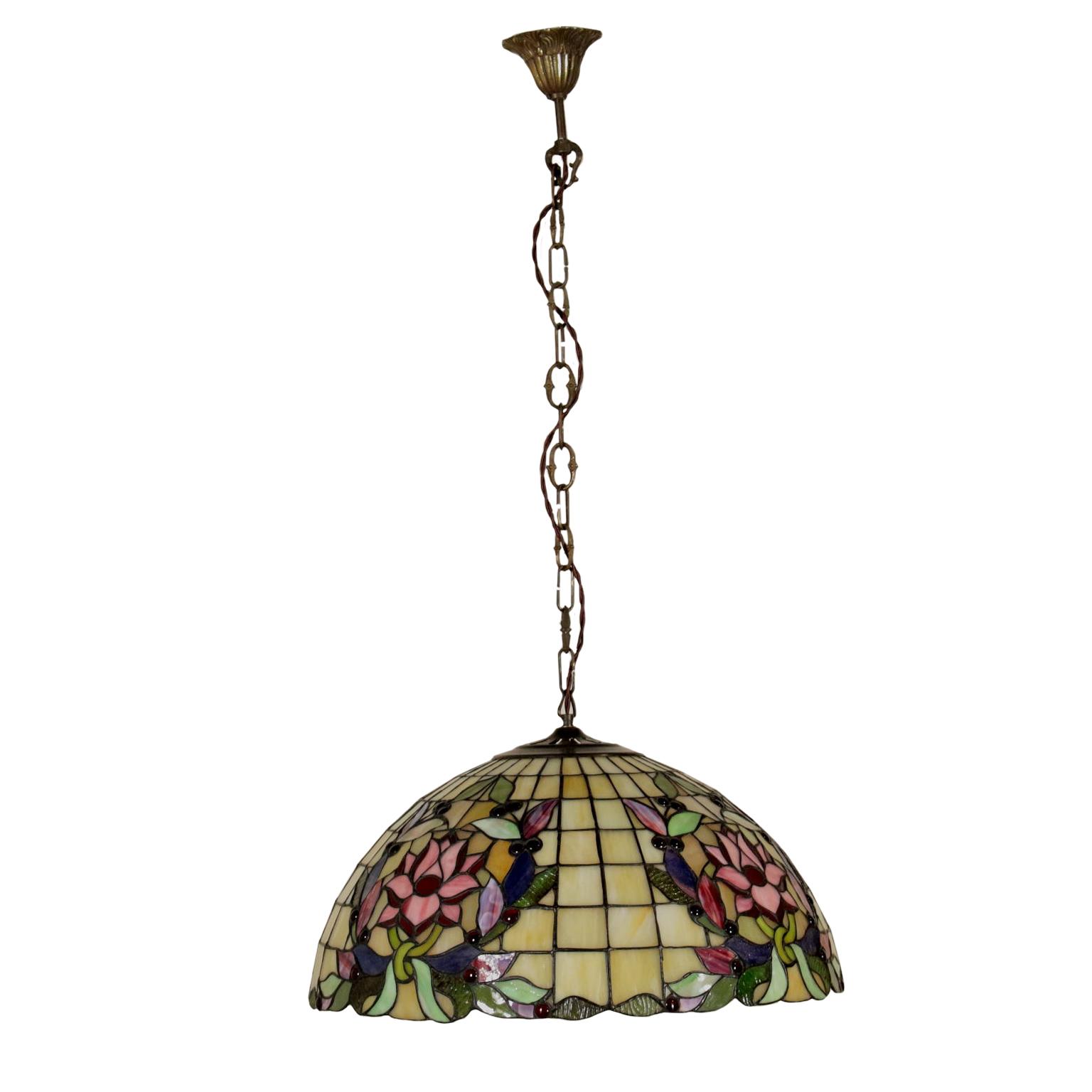 Lampadario Stile Liberty - Illuminazione - Bottega del 900 ...