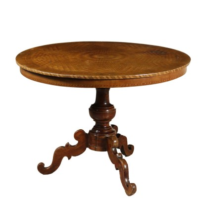 Inlaid Coffee Table Rolo Italy Early 19th Century