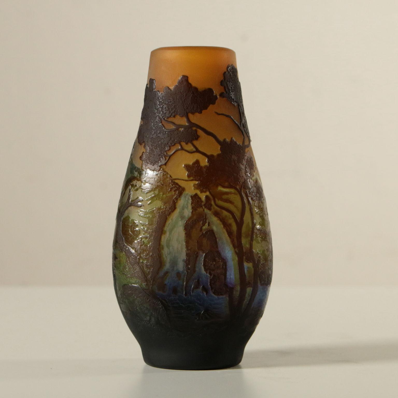 Vaso gall oggettistica bottega del 900 for Vaso galle