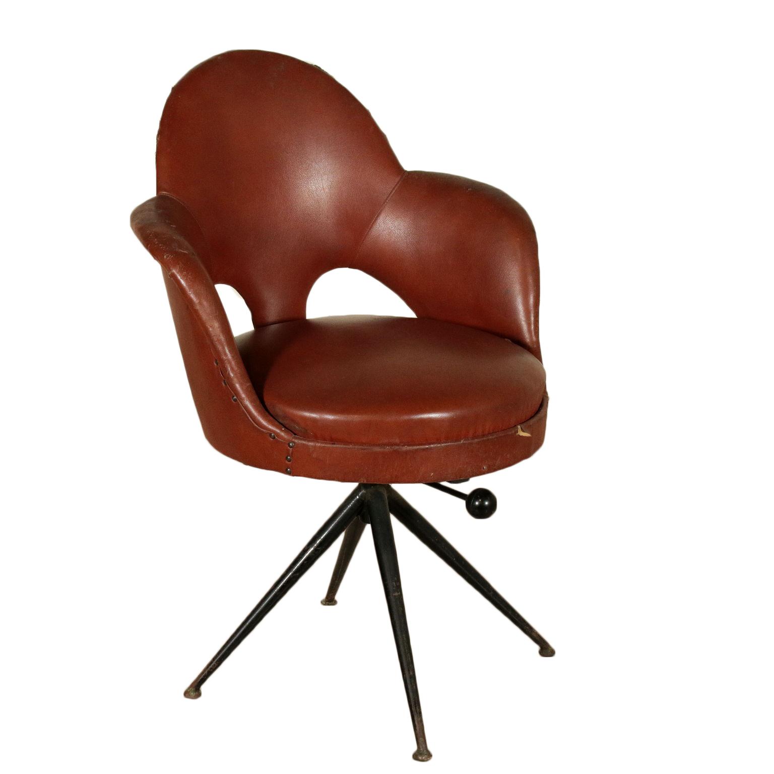 Poltroncina anni 60 sedie modernariato for Sedie a poltroncina