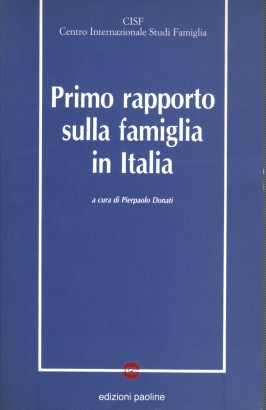 First report on the family in Italy