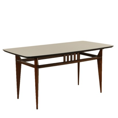 Table Beech Formica Vintage Manufactured in Italy 1960s