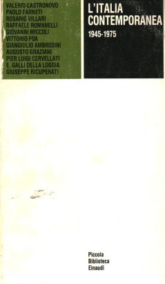 L'Italia contemporanea (1945-1975)