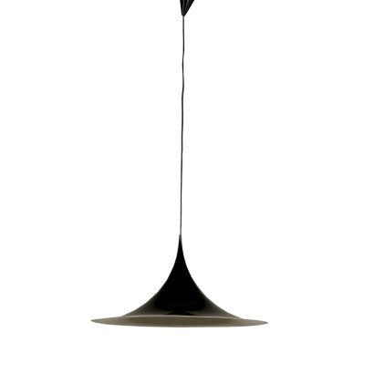 Lacquered Aluminium Ceiling Lamp by Gubi Vintage Italy 1970s-1980s