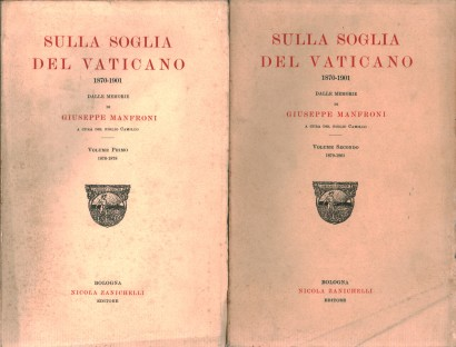 No limiar do Vaticano 1870-1901 (2 volumes)