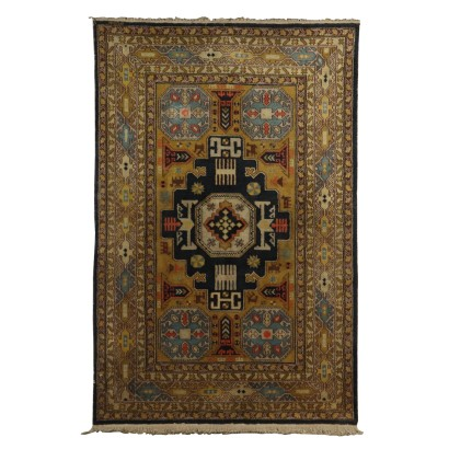 Cotton and Wool Kuba Carpet Azerbaijan 1980s-1990s