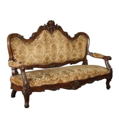 Canap louis philippe meubles de style bottega del 900 - Divano luigi filippo ...