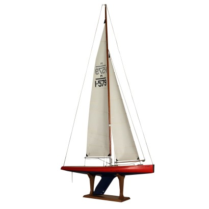 Wooden Sailing Ship Radio Control 20th Century
