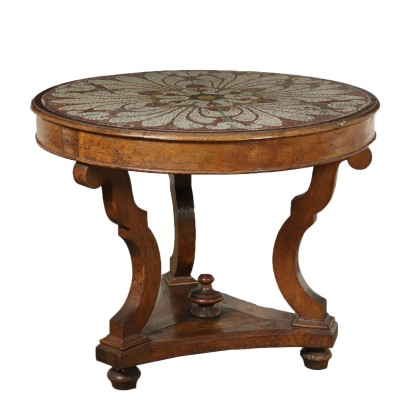 Table with Mosaic Top Italy Second Half of 1800s