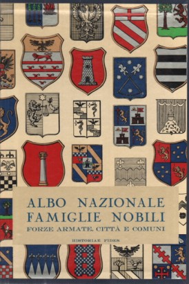 National register of the noble Families of the Italian State. Part I
