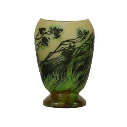 Vaso in Stile Daum Nancy