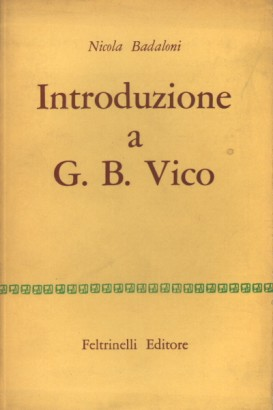 Introduction to G. B. Vico