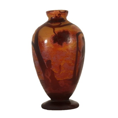 Vase in the Style of Daum Nancy
